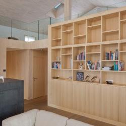Wohnzimmer umbauen: Die Zukunft ist aus Holz