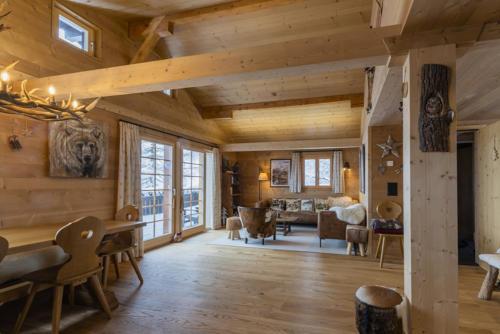 Chalet Umbau Wohnraum Innenarchitektur