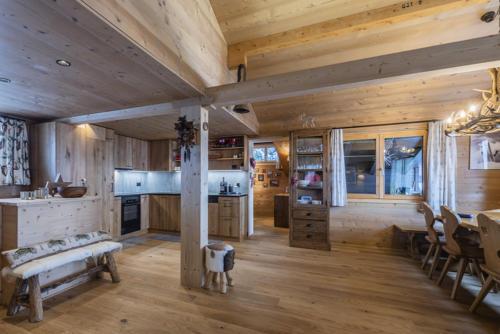 Chalet Umbau Wohnraum Inneneinrichtung