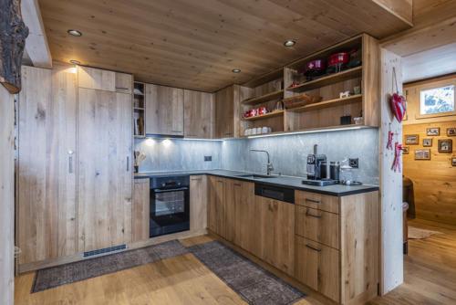 Chalet Umbau Küche