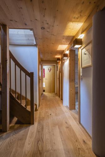 Chalet Umbau Treppenhaus