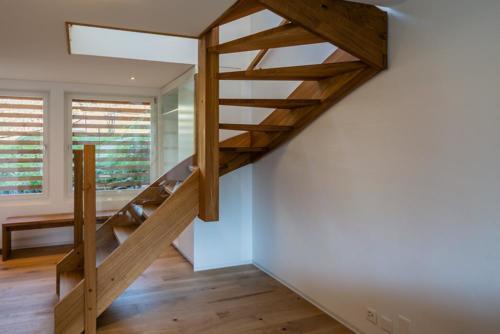 Treppe in Eiche Umbau