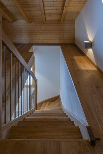 Umbau Chalet Treppe