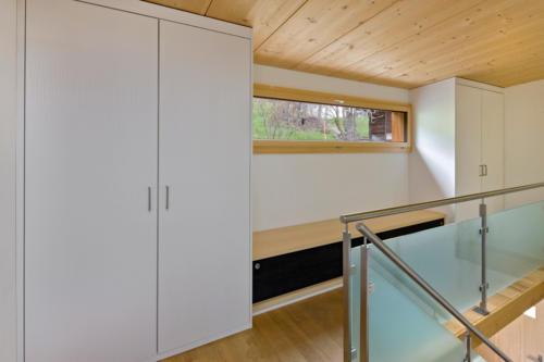 Umbau Wohnung in Fürgangen Galerie und Stauraum