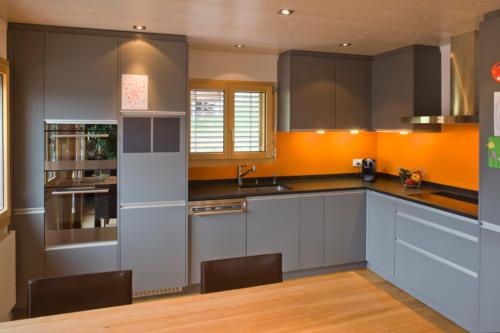 Umbau Wohnung in Fürgangen Küche umbauen