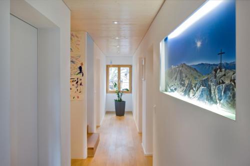 Umbau Wohnung in Fürgangen Gang und Boden